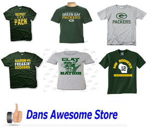 Green Bay Packers Tee Shirt - Dans Awesome Store