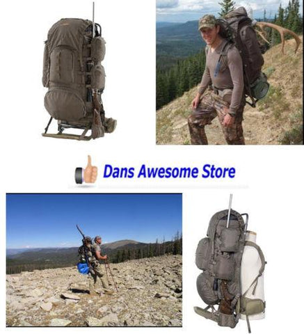 Hunting Rifle BackPack Frame Bag Outdoor Camping Hiking Fishing Travel Lodge New - Dans Awesome Store