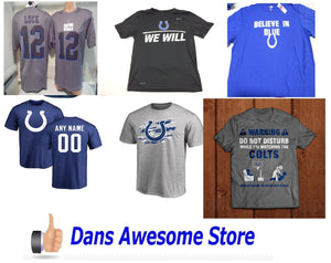 Indianapolis Colts Tee Shirt - Dans Awesome Store