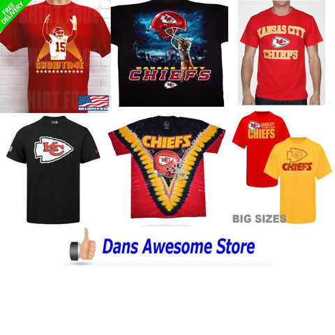 Kansas City Chiefs Tee Shirt - Dans Awesome Store