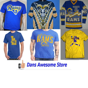 LA Rams Tee Shirt - Dans Awesome Store