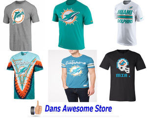 Miami Dolphins Tee Shirt - Dans Awesome Store