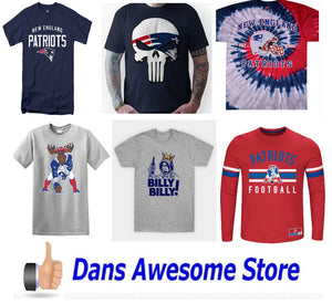 New England Patriots Tee Shirt - Dans Awesome Store