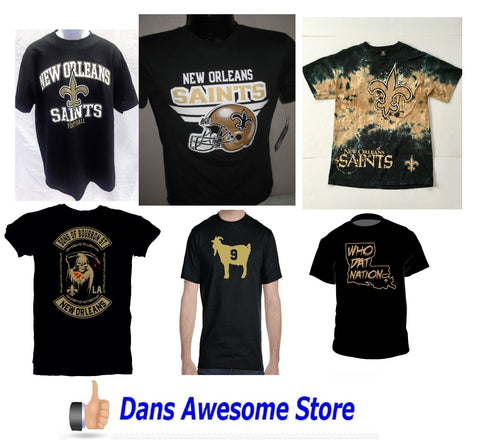 New Orleans Saints Tee Shirt - Dans Awesome Store