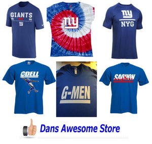 New York Giants Tee Shirt - Dans Awesome Store