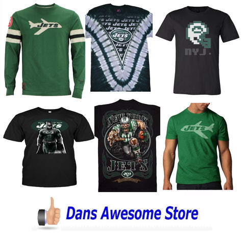 New York Jets Tee Shirt - Dans Awesome Store