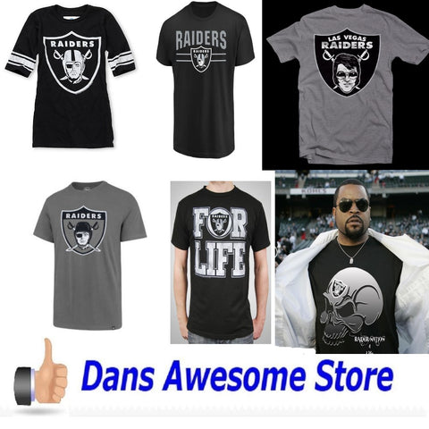 Oakland Raiders Tee Shirt - Dans Awesome Store