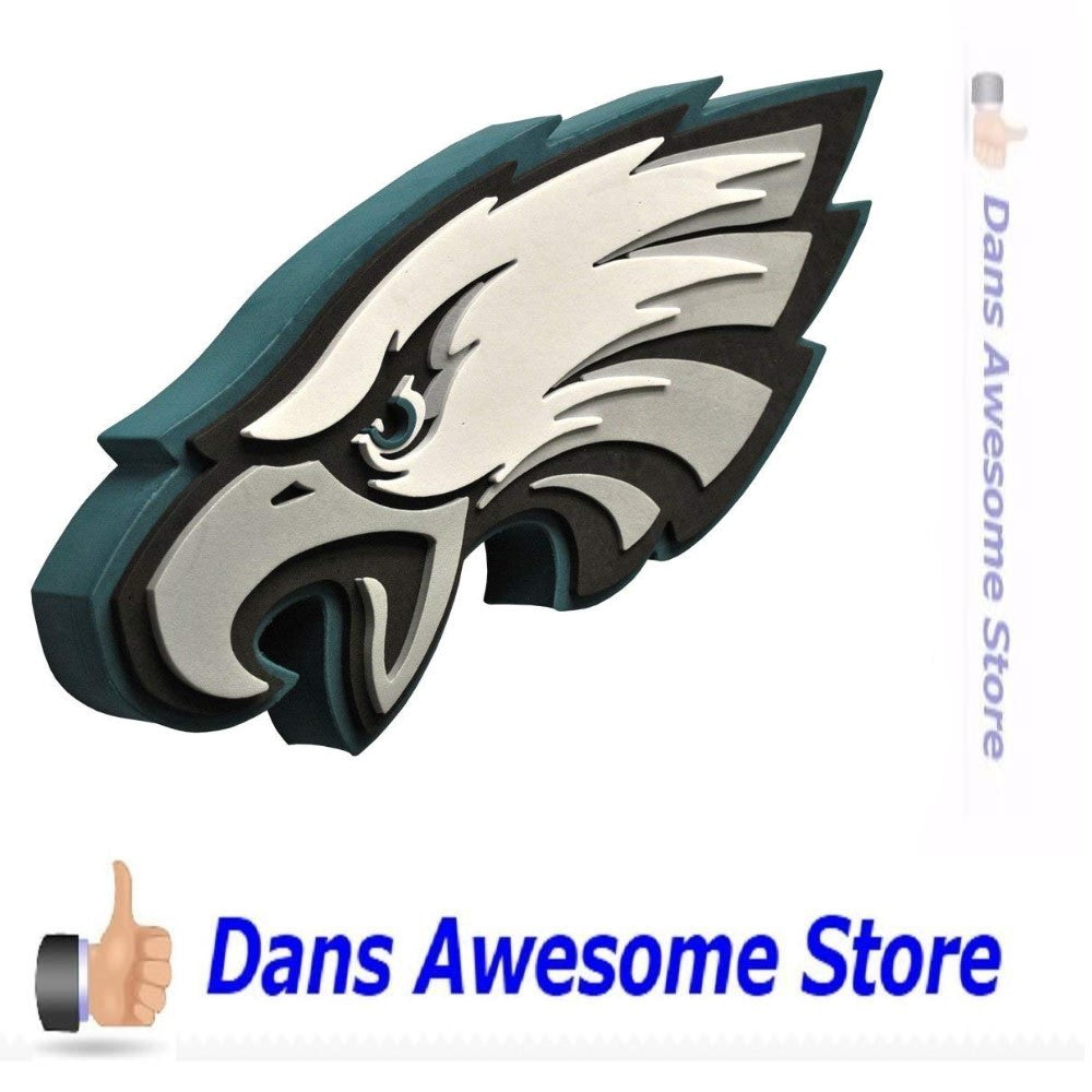 Philadelphia Eagles Foam Logo - Dans Awesome Store