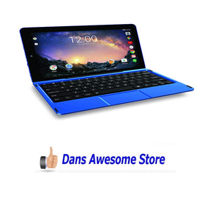 "Premium High Performance RCA Galileo Pro 11.5"" 32GB Touchscreen Tablet Computer with Keyboard Case Quad-Core 1.3Ghz Processor 1G Memory 32GB HDD Webcam Wifi Bluetooth Android 6.0-Blue - Dans Awesome Store"