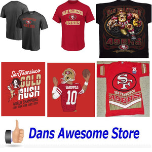 San Francisco 49ers Tee Shirt - Dans Awesome Store