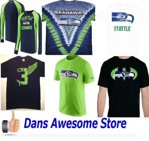 Seattle Seahawks Tee Shirt - Dans Awesome Store
