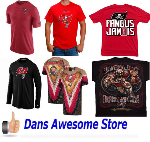 Tampa Bay Buccaneers Tee Shirt - Dans Awesome Store