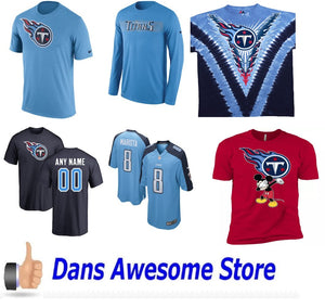 Tennessee Titans Tee Shirt - Dans Awesome Store