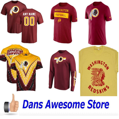 Washington Redskins Tee Shirt - Dans Awesome Store