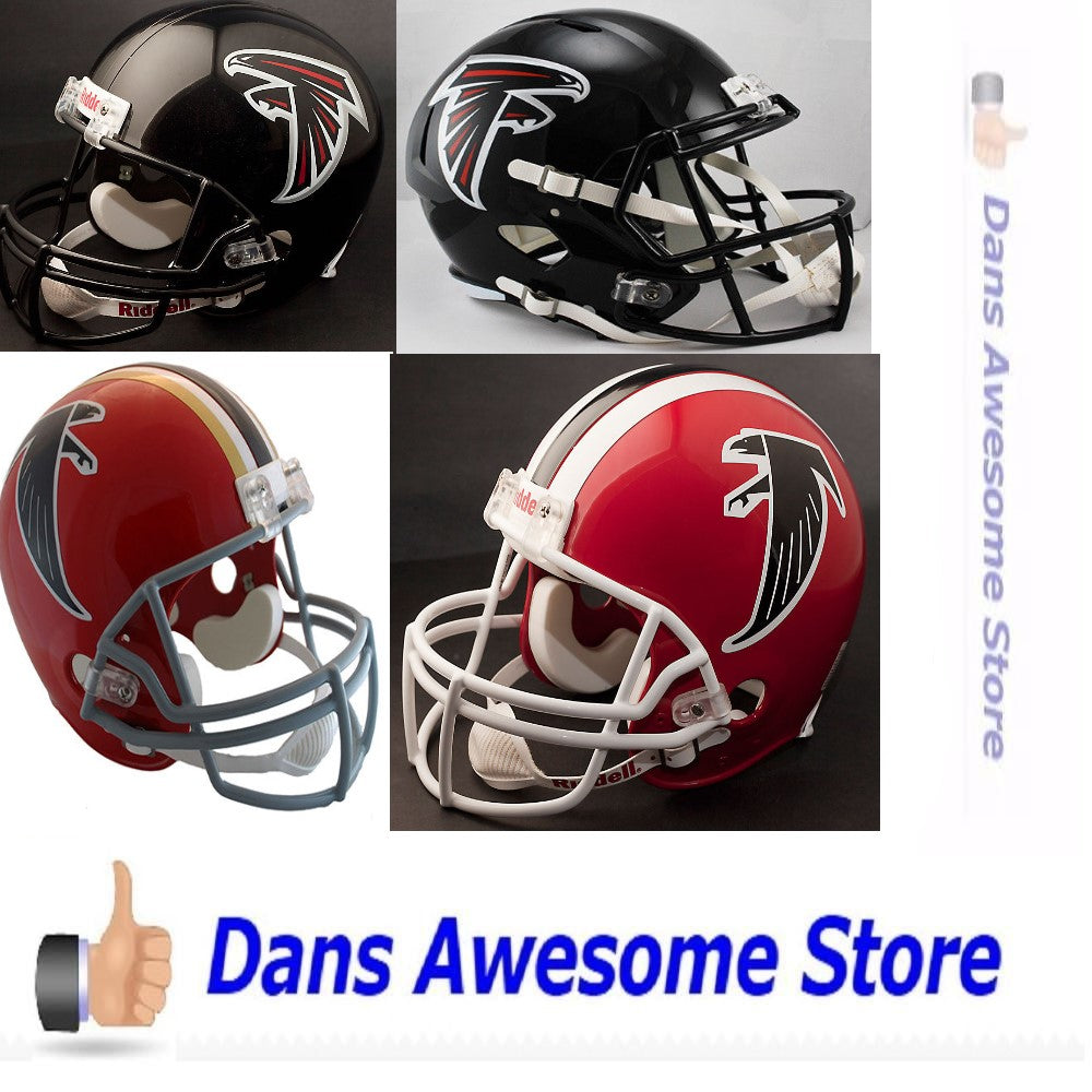 Atlanta Falcons Full Size Helmet - Dans Awesome Store