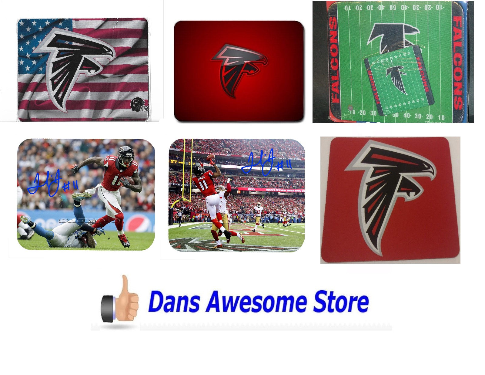 Atlanta Falcons Mouse Pad - Dans Awesome Store