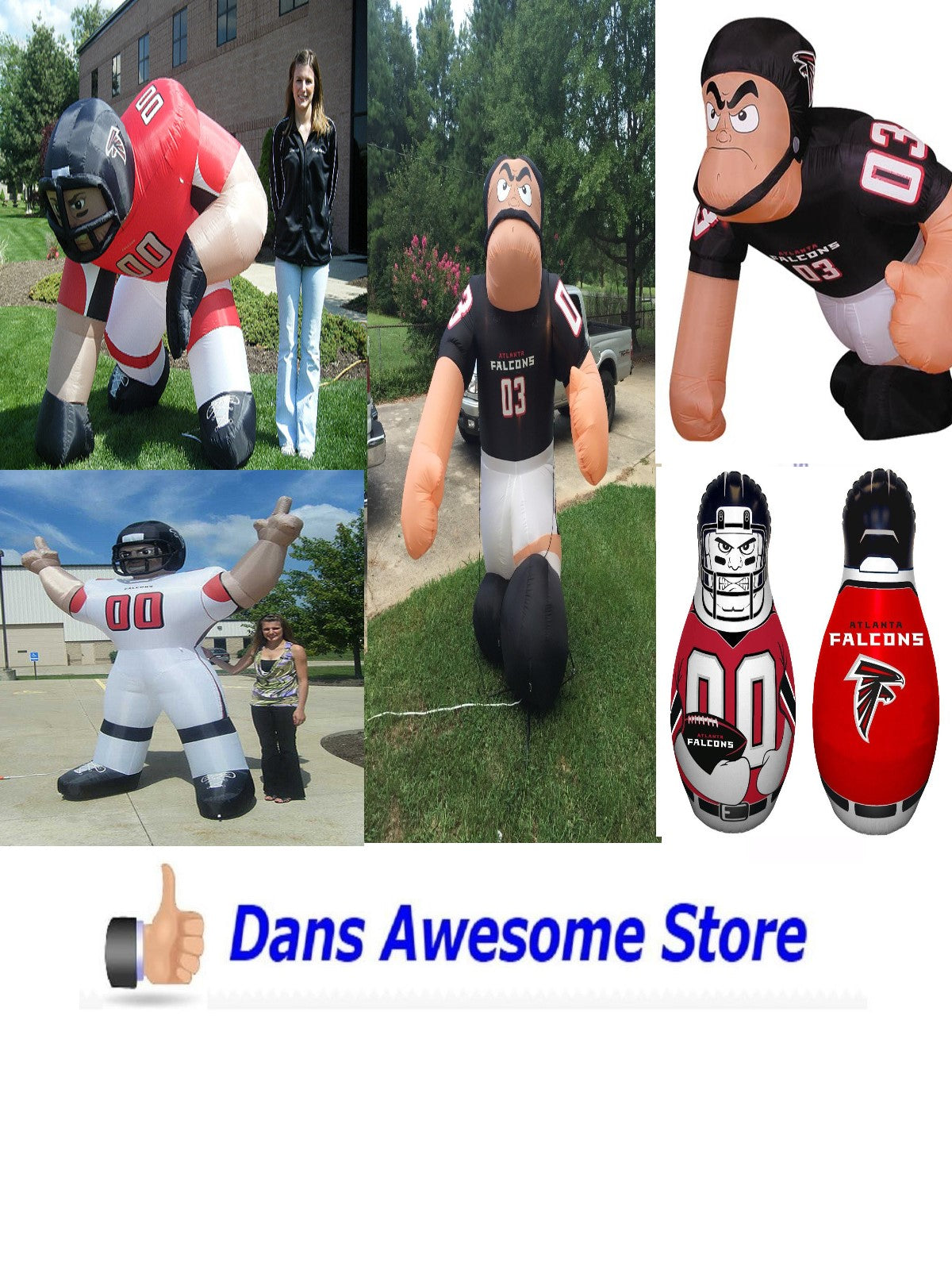 Atlanta Falcons Inflatable - Dans Awesome Store