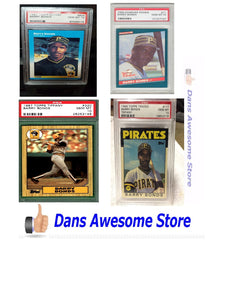 Barry Bonds Rookie Card and Baseball Card Values Home Run Record King - Dans Awesome Store