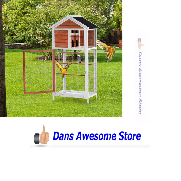 Wooden Bird Cages Sale - Dans Awesome Store