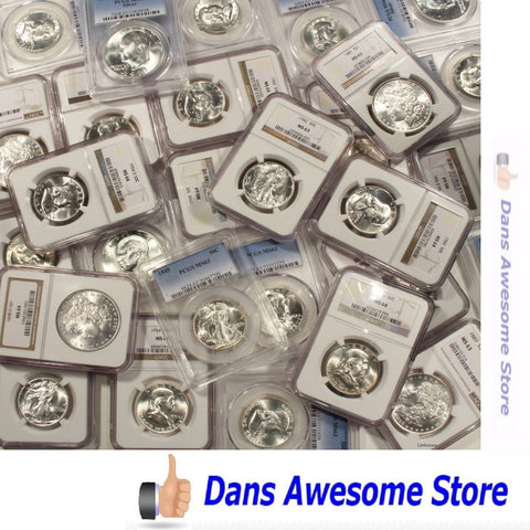 PCGS NGC Graded Coins - Dans Awesome Store