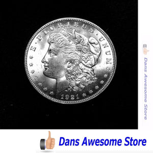 1921 Silver Morgan - Dans Awesome Store