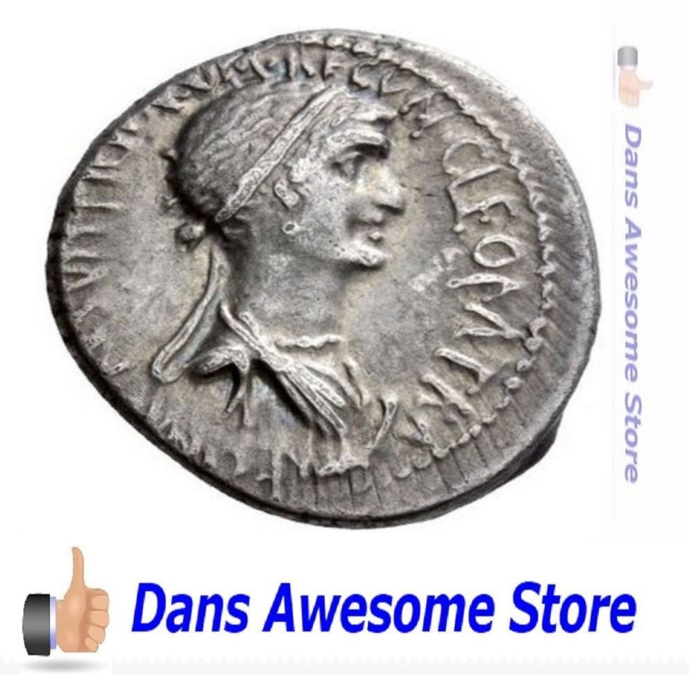 Cleopatra  Coin - Dans Awesome Store