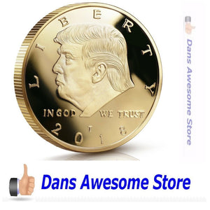 Donald Trump Coin 2018 - Dans Awesome Store