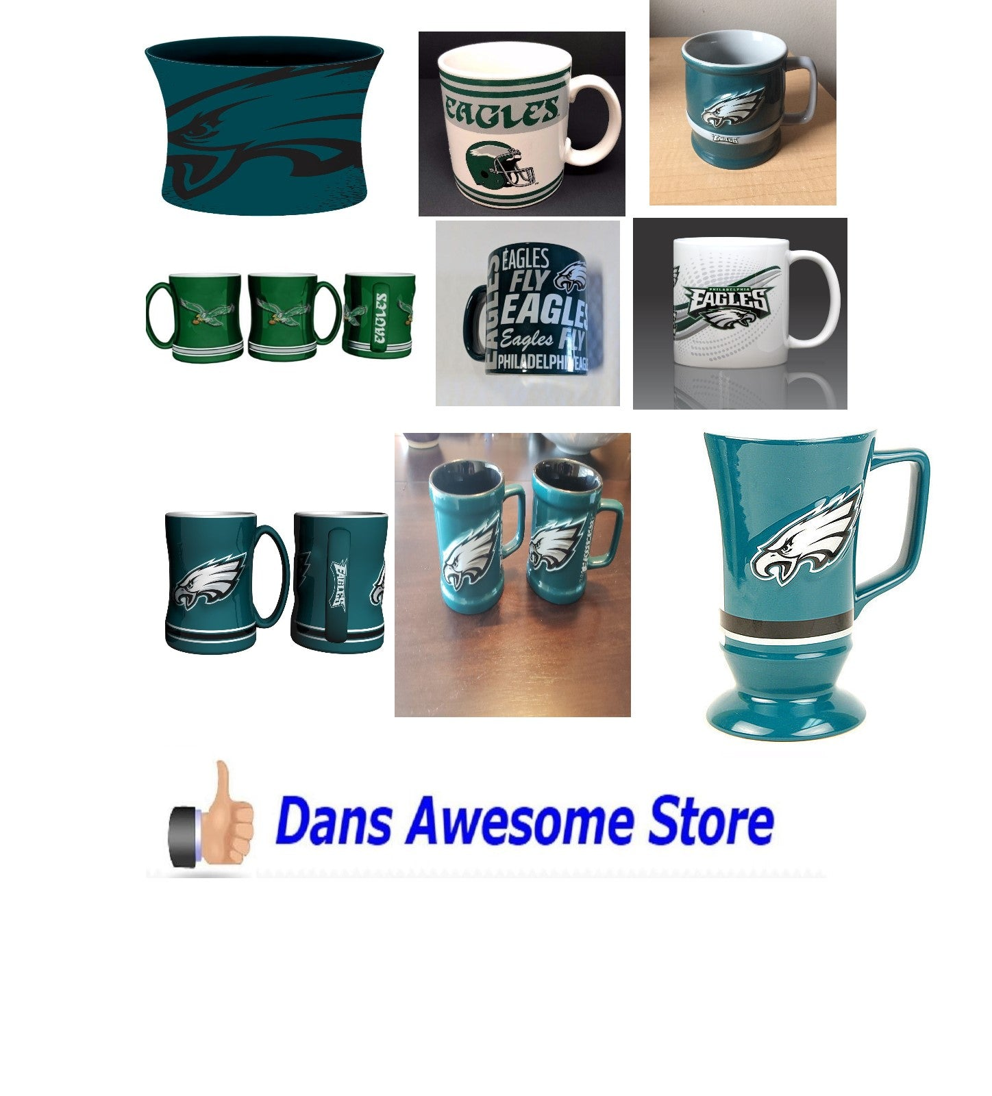 Philadelphia Eagles Coffee Mug - Dans Awesome Store