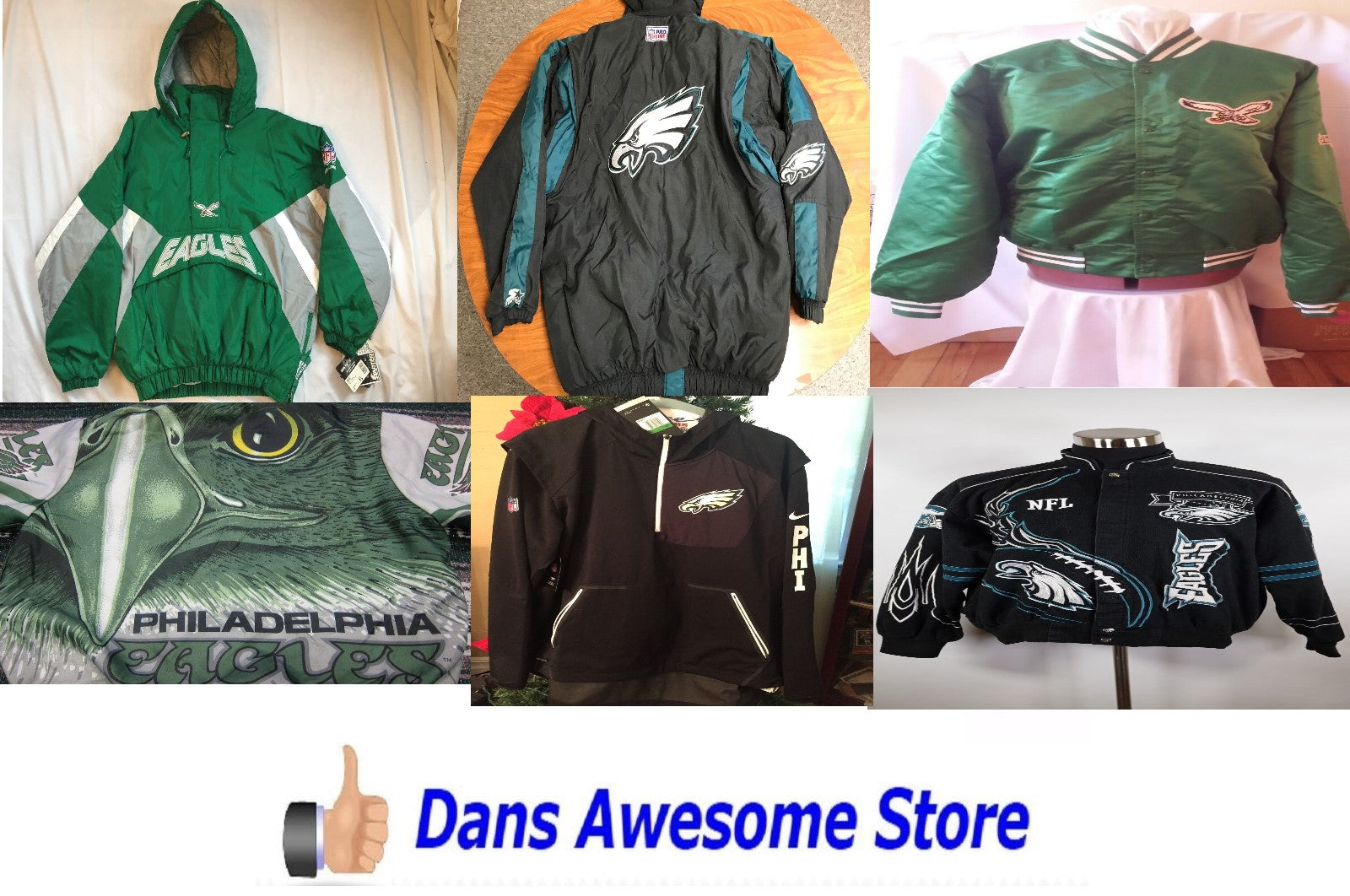 Philadelphia Eagles Jacket - Dans Awesome Store