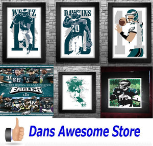 Philadelphia Eagles Poster - Dans Awesome Store