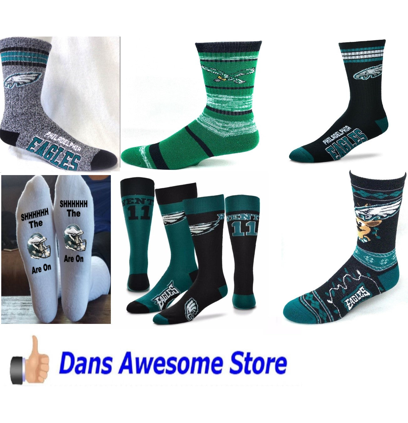 Eagles Socks - Dans Awesome Store