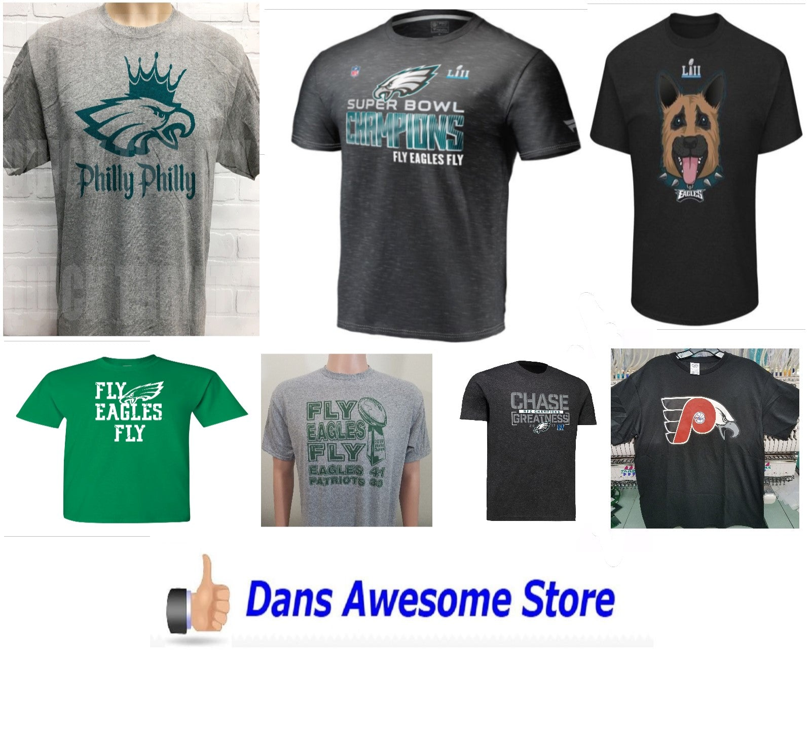 Philadelphia Eagles T-Shirts - Dans Awesome Store