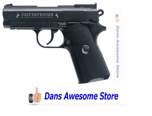 Colt Defender Air Pistol (Black Medium) BB Magazine CO2 Compartment SHIPS FREE!! - Dans Awesome Store