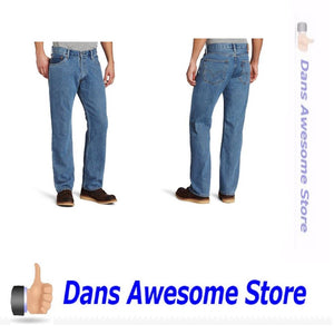 Levi's Men's 505 Regular Fit Jean Medium Stonewash Comes in many sizes - Dans Awesome Store
