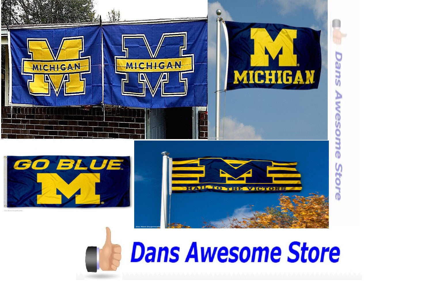 Michigan Flag - Dans Awesome Store