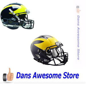 Michigan Wolverines Helmet - Dans Awesome Store