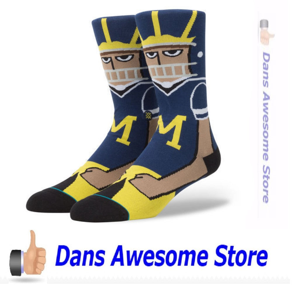 Michigan Wolverines Football Socks - Dans Awesome Store