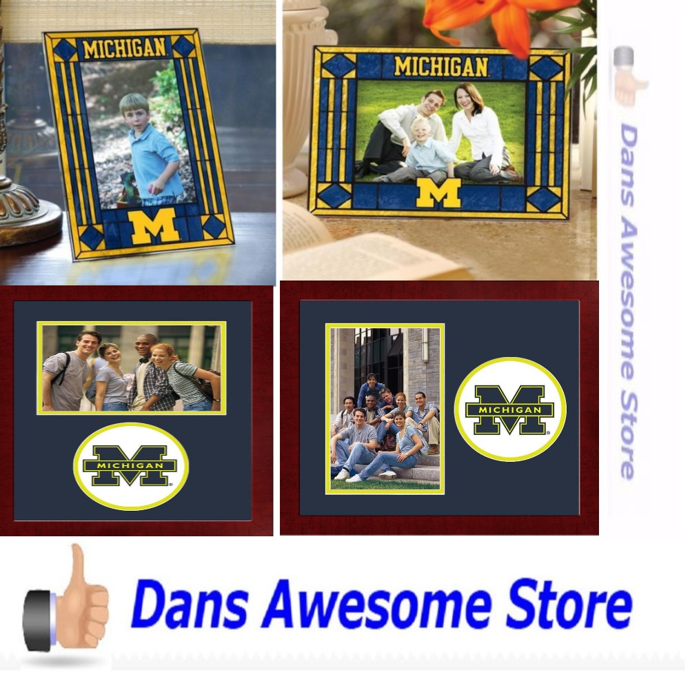 Michigan Wolverines Picture Frame - Dans Awesome Store