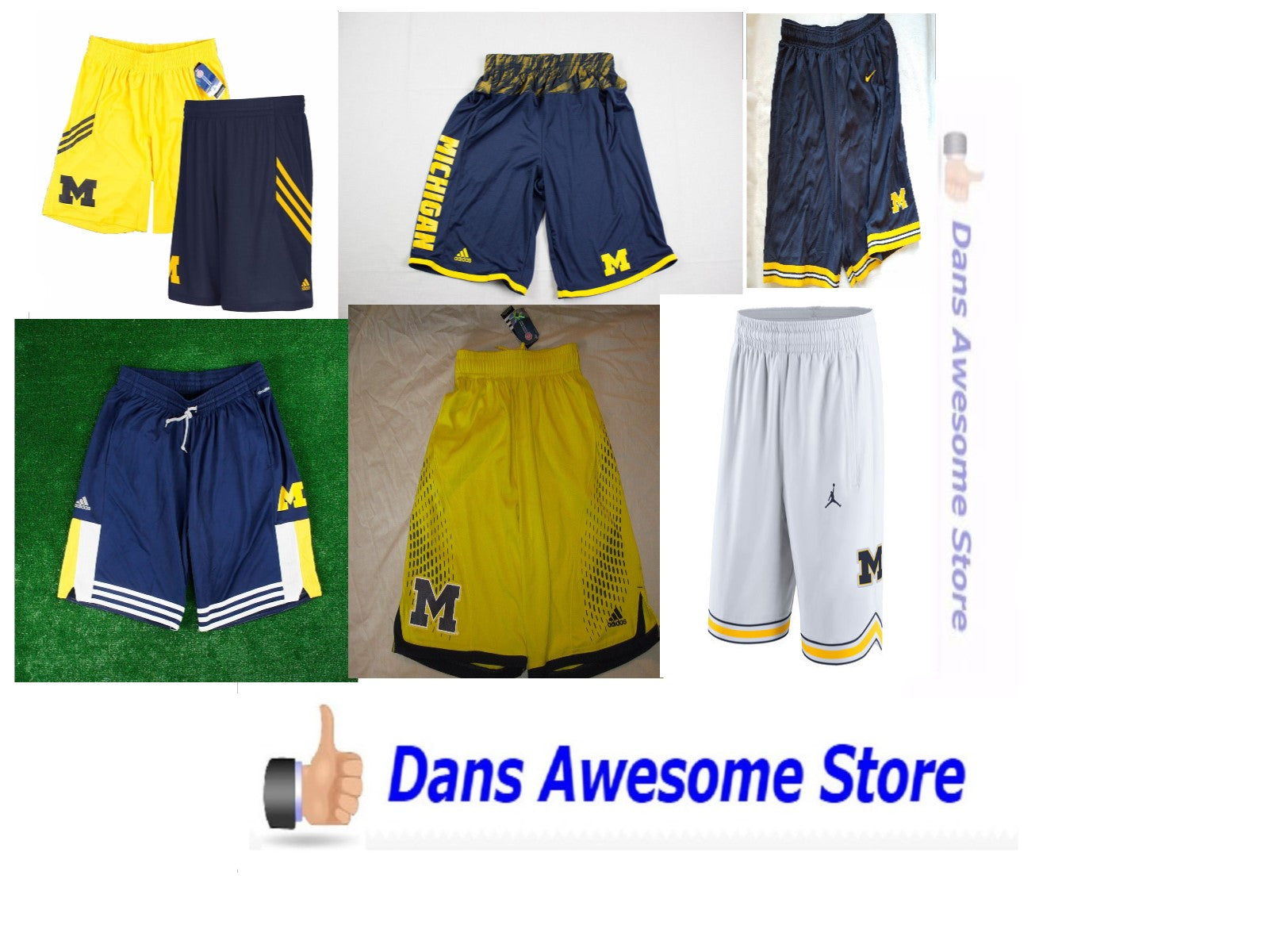 Michigan Wolverines Shorts - Dans Awesome Store