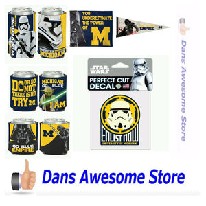 Michigan Wolverines Star Wars - Dans Awesome Store