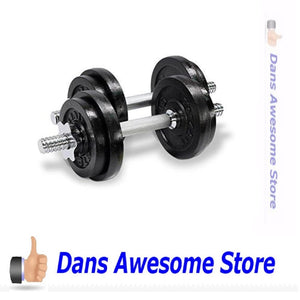 Yes4All Adjustable Dumbbells, 50.00 Pounds - Dans Awesome Store