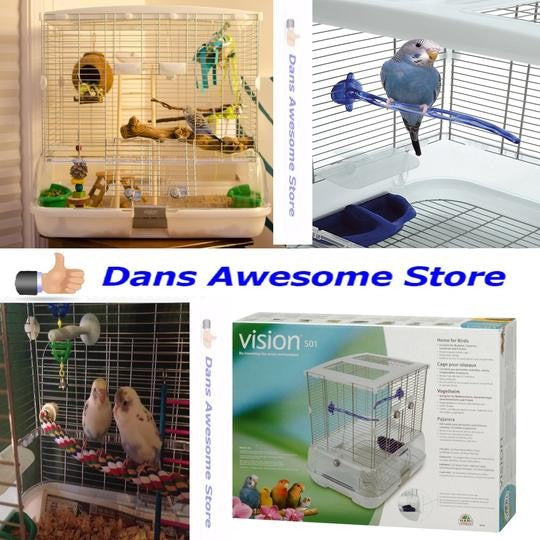 Vision Bird Cage Model S01 - Small Canaries, Lovebirds and Finches New
