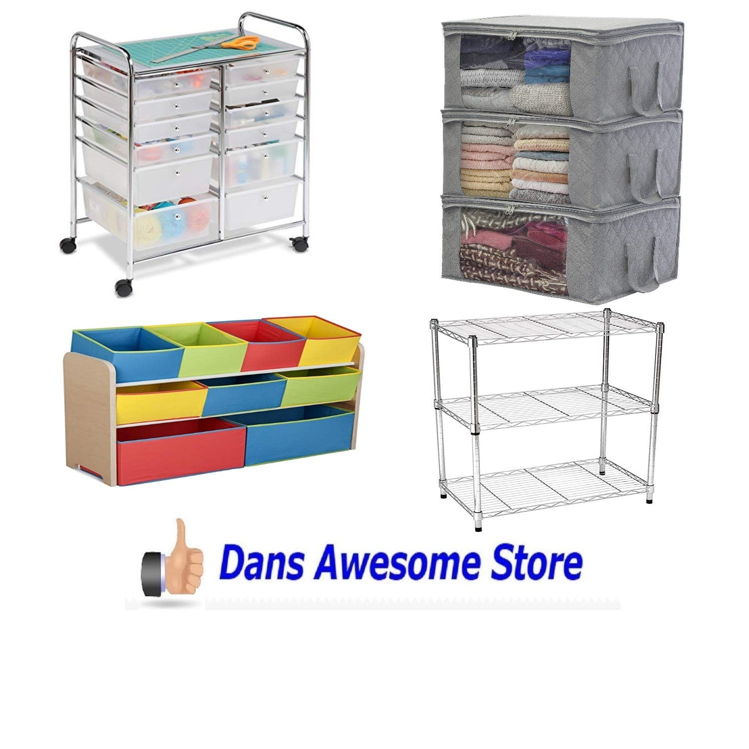 All My Storage and Space Saving Items Click Here