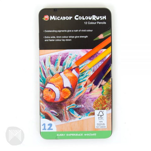MICADOR COLOURRUSH PENCILS
