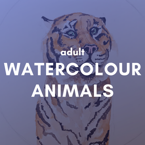 WATERCOLOUR ANIMALS Friday 1 May 6-9pm