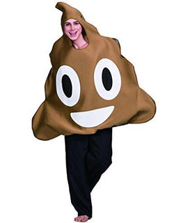 Unisex Poop Emoticon Costume