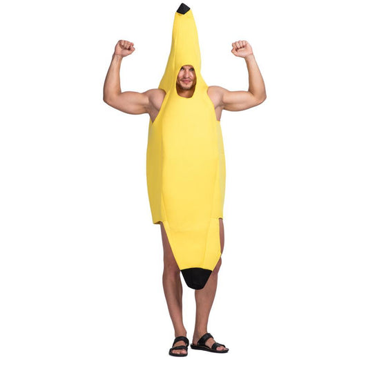 Yellow Banana Fruit Costume