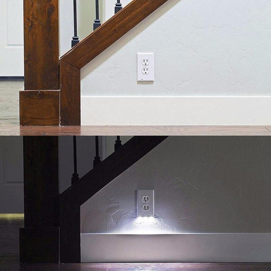 LED Night Light Wall Outlet Plug Cover