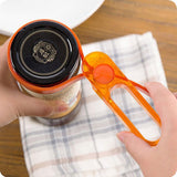Multi-function Plastic Bottle Can Wine Jars Lid Opener