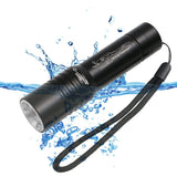 XML T6 LED Zoomable Dive Torch